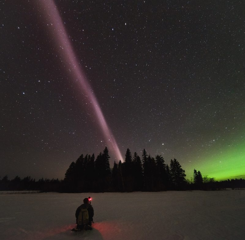 Spectacular Light Phenomenon Skyglow STEVE Not an Aurora, Say Scientists