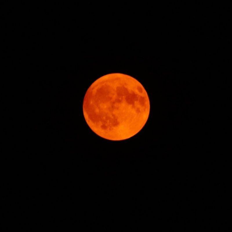 Full moon tonite