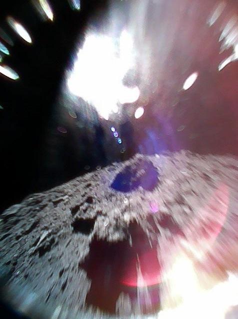 JAXA confirms 2 rovers landed successfully on asteroid Ryugu plus more RyuguByRover1ATakenDuringAHopCorrectPosition