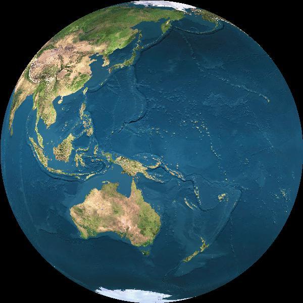 Equinox sun is over Earth's equator