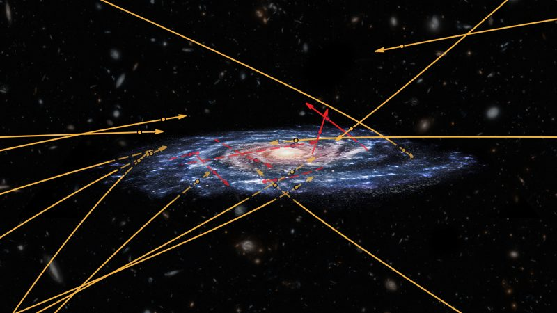ESA's Gaia spots stars flying between galaxies