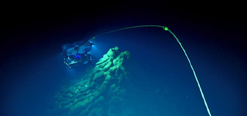 Eruption of the world's deepest undersea volcano | Earth
