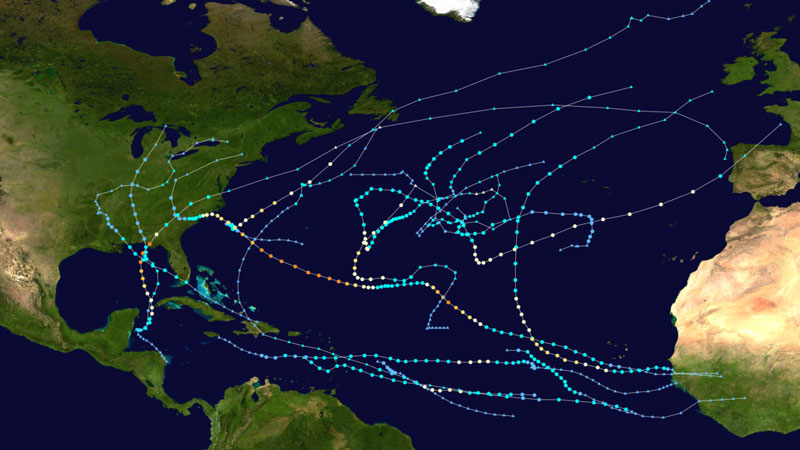 How rare are November hurricanes in the Atlantic? | Earth