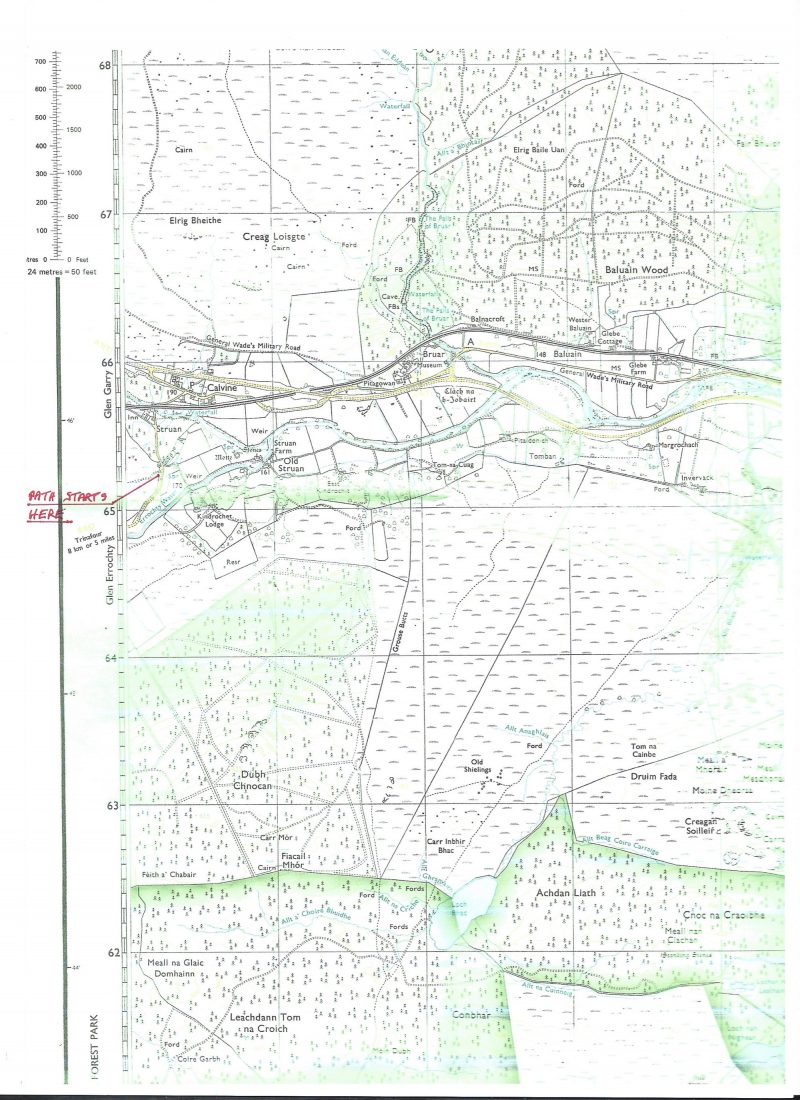 Pitlochry Scotland Map.Directions To Struan Point Summit Pitlochry Scotland Earth