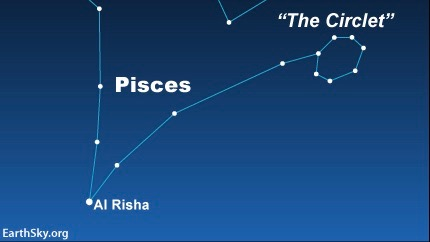 Star Al Risha binds the Fishes of Pisces | Astronomy