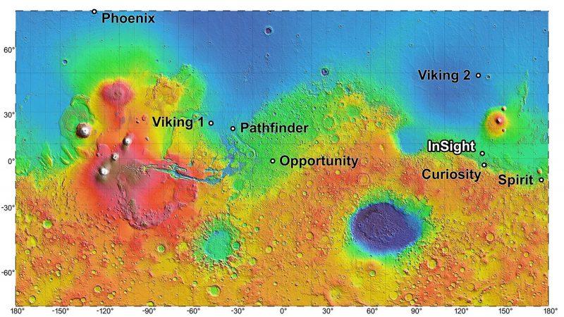 NASA Insight landing on Mars November 26 Insight-mars-landing-site-map-e1541515282613