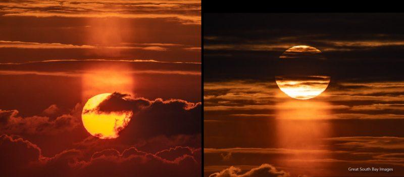 What Is A Sun Pillar Or Light Pillar Earth Earthsky
