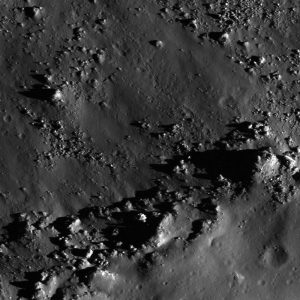 Gray, bumpy image