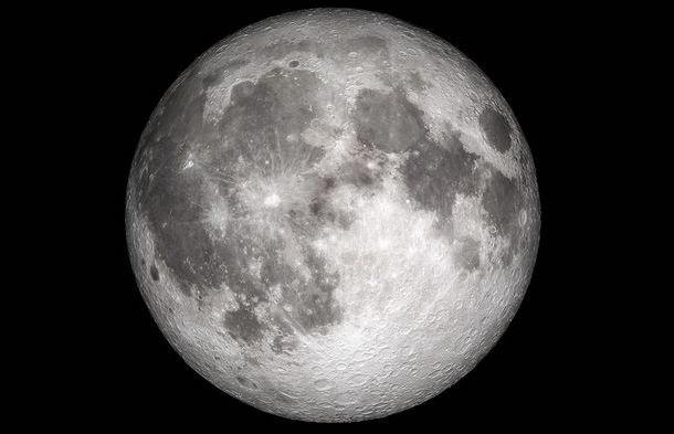 Earth's moon.