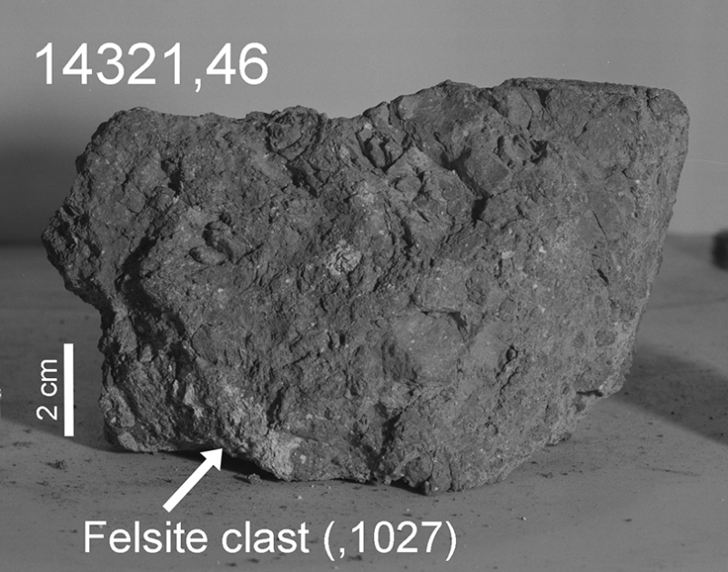 Is this ancient moon rock from Earth? Moon-rock-from-Earth-Apollo-14-2-800x628