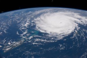 Hurricane Jose seen from space in 2017.