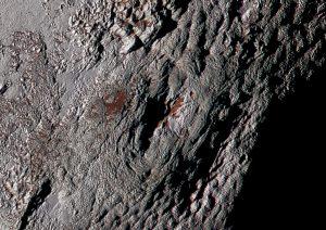 Cryovolcano on Pluto.