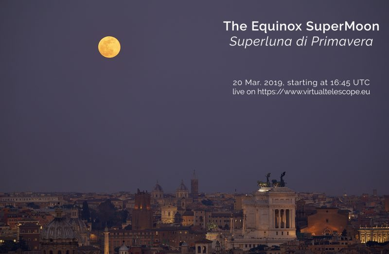 full supermoon at March 2019 equinox Exquinox2019SuperMoon_poster-e1552729680909