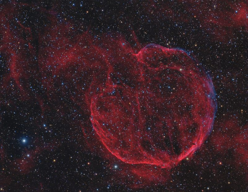 Giant bubble in space.