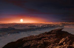 Surface of Proxima-b.