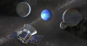 TESS and exoplanets.