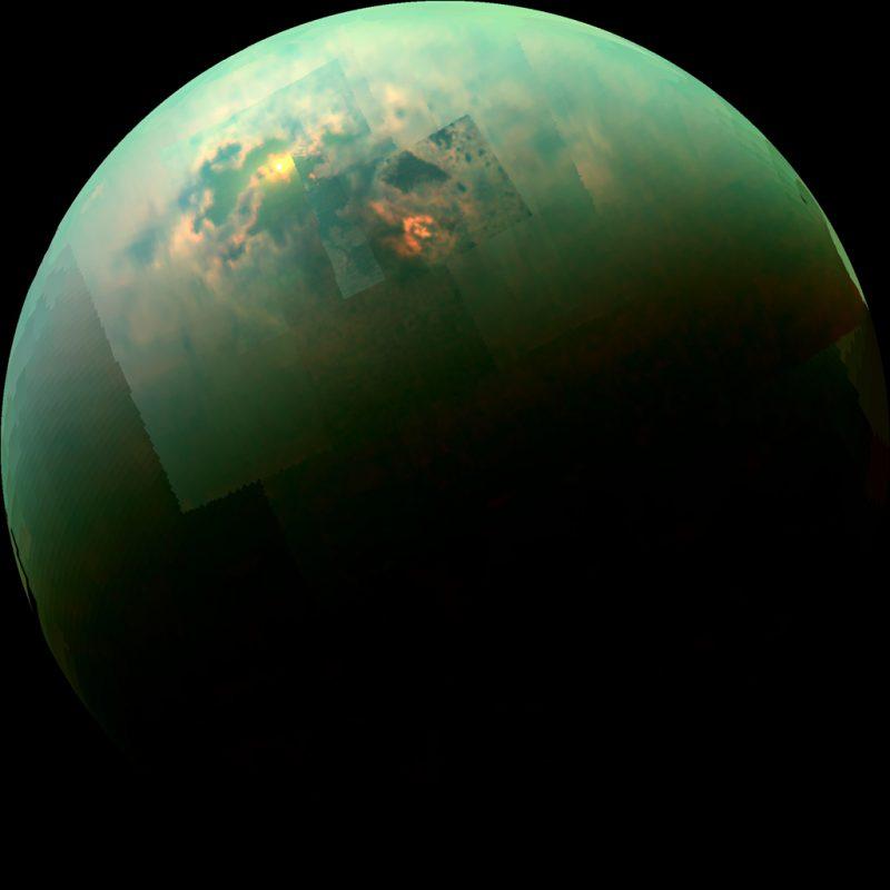 lakes of Titan