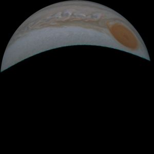 Jupiter and Great Red Spot.