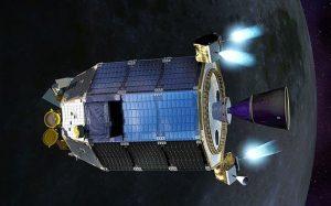 Chandrayaan-2 near moon.