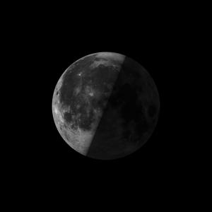 Image of last quarter moon