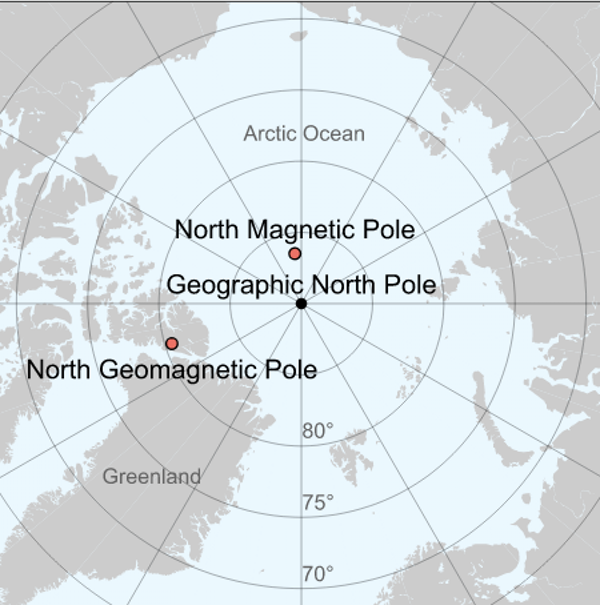 Magnetic north is shifting fast  What'll happen to the northern