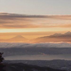 Sunrise video still from Hideto Shimizu in Japan.