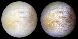 Color views of Europa.