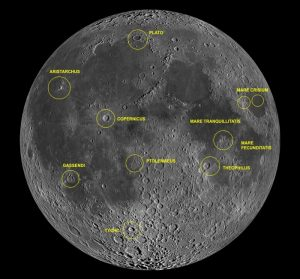 "TLP ""hot spots"" on moon."