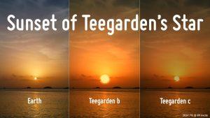 Teegarden's Star sunsets.