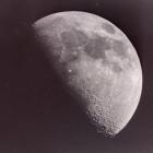 """Lunar flare"" spot on the moon."