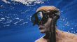 Scuba diver under water.