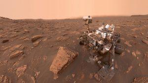 Curiosity rover.