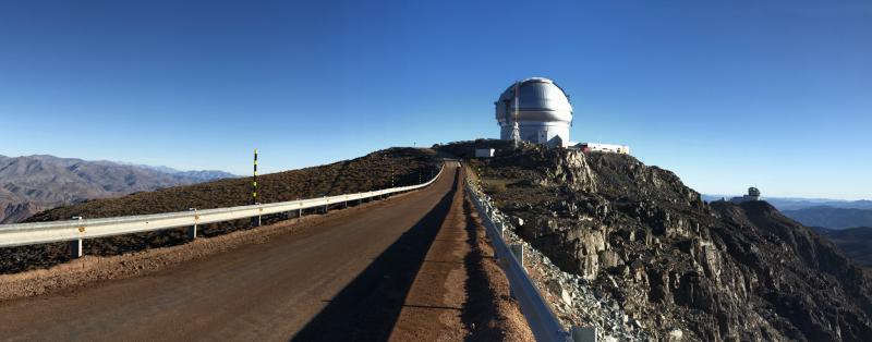 Astronomy ambassadors in Chile: Cerro Pachón and Cerro Tololo