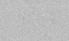 A blank fuzzy images with 3 red crosses.