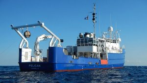 Photo of the R/V Pelican.