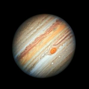 Very detailed full image of Jupiter.