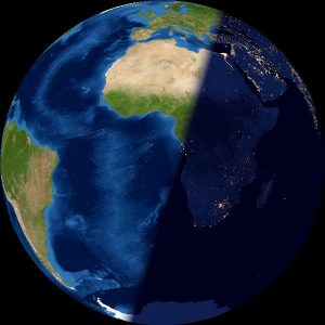 Last quarter Earth