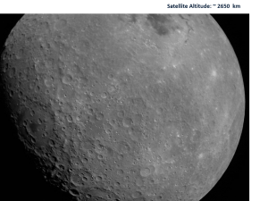 First image of the moon by Chandrayaan-2
