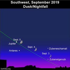 1st quarter moon is September 5-6 | Moon Phases | EarthSky