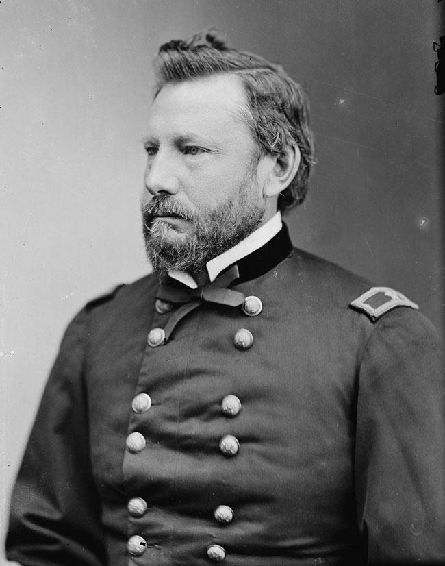 Portrait of General Myer.