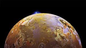 Volcano on Io.