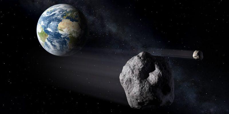 Rocky objects near Earth.