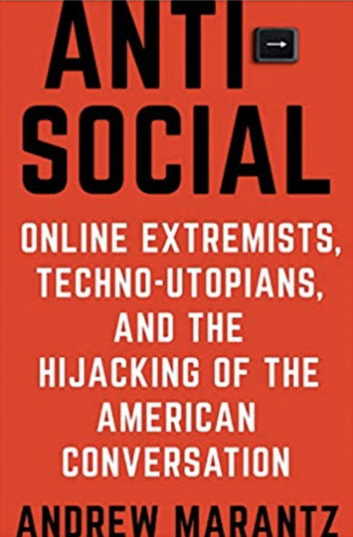 Book cover of Antisocial.