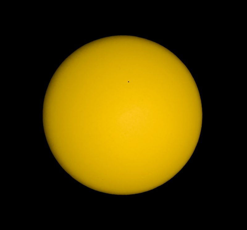 Transit of Mercury.