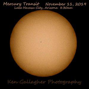 Transit of Mercury.