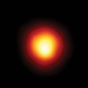 Big red blobby star image.