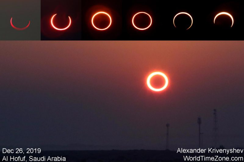 Annular solar eclipse.