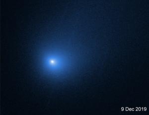 Bluish comet.