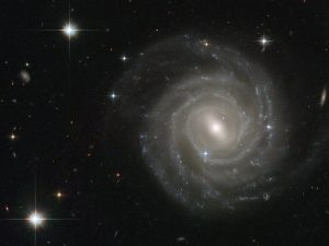 An image of the barred spiral UGC 12158.