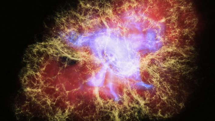 Crab Nebula: Visualize an exploded star